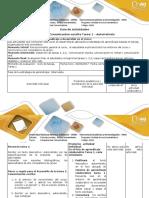 Guía de actividades y rubrica de evaluación- Tarea 1- Creación de texto descriptivo, autorretrato 20202