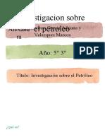 2.a) Petroleo