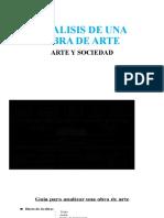ANALISIS DE UNA OBRA DE ARTE
