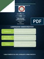 LIDERAZGO DEMOCRATICO EQUIPO 2