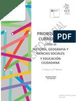 Priorizacion curricular (Chile)