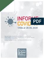 Informe Covid 19 Chile Al 28062020 Decimo Reporte