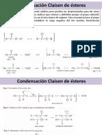 Claisen Condensación