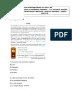 4. Evaluacion de Segundo Periodo - grado quinto  C. Asertivos