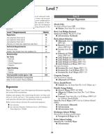 RCM Level 7 Syllabus
