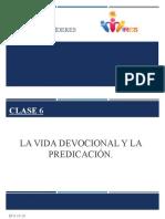 Clases para líderes 6 (la vida devocional y predicacion).pptx