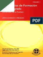 Exp Form en el pregrado- publicacion 2012
