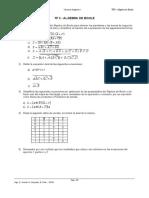 TP03 Algebra de Boole 2019