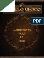 Ingredientes para la cura (brem)