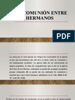 5. LA COMUNIÓN ENTRE LOS HERMANOS.pptx