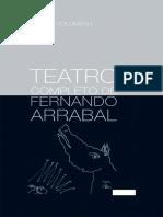 TEATRO COMPLETO De Fernando Arrabal