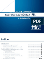 Manual usuario factura FEL - Guatemala