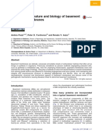 nature and biology of basement membranes