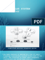 CELLULAR SYSTEM TOPOLOGY