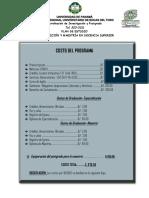 PLAN DE ESTUDIO ESPECIALIZACIÓN Y MAESTRÍA EN  DOCENCIA SUPERIOR 4 PARA IMPRIMIR