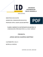 Cuadro Comparativo de Paises Educ Com Completo y Listo