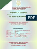 IS Syllabus 2020 1 Diapositivas