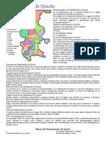 01082017.- Departamento de Quiche División política Idioma Economía Costumbres y tradiciones Bailes folclóricos Lugares turísticos.docx