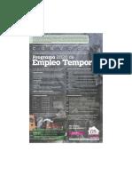 Empleo Temporal Neza 2020