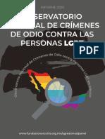 Informe Observatorio LGBT MX2020