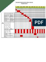 Cronograma Implementacion ISO 14001