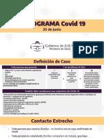Nueva definición de caso sospechoso de COVID -19