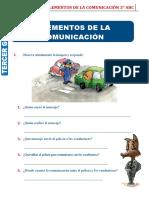 ejercitación- elementos de la comunicación 3°abc