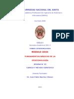 SEMANA 03 - Ciencia y Metodo Cientifico MODULO 2011-I
