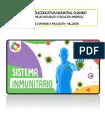 EL SISTEMA INMUNOLÓGICO-Inclusión