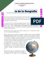 Historia de La Geografia Comp Lectora 5