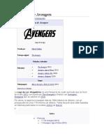 Tetralogía de Avengers