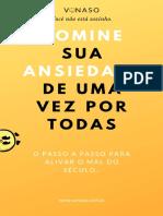 DOMINE SUA ANSIEDADE DE UMA VEZ POR TODAS