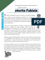 2Fichacl La Señorita Fabiola Para Cuarto de Primaria