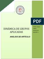 ANÁLISIS DE ARTÍCULO