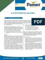 Tema 13 - La extrapolación I