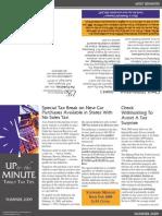 PK Tax News Summer 2009