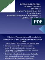 SESION 15 PRINCIPIOS DEL DERECHO ADMINISTRATIVO APLICABLES  EN LA CONTRATACION PUBLICA I.ppt
