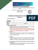 INFORME ACTIVIDAD PRÁCTICA DEMOSTRATIVA SEMANA DOS