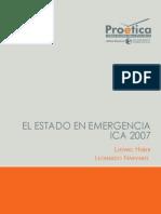 El Estado en emergencia - Ica 2007