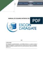 3) Manual de Usuario - Interfaz de Gestión EDG