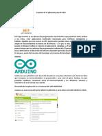Creación de la aplicación para el robot.docx