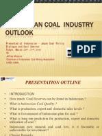 Indonesia Coal Indutry Outlook English