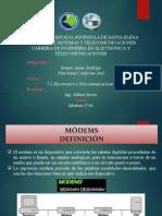 Comunicaciones Digitales - Modems V-36 Grupo 4