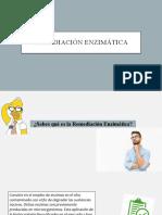 Remediación enzimática