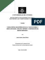 Carga Rápida de Baterías de Ni-CD y Ni-mh de Media y Gran Capacidad. Análisis, Síntesis y Comparación de Nuevos Métodos981