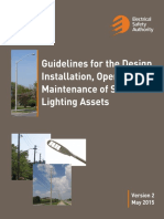 Streetlight Guideline