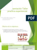 01.Presentación Taller practica experiencial