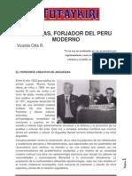 Arguedas, Forjador Del Peru Moderno