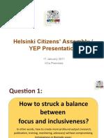 Helsinki Citizens Assembly YEP Presentation