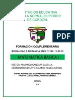 MODULO DE MATEMATICA BASICA I GRUPO 7 CHIMICHAGUA-1